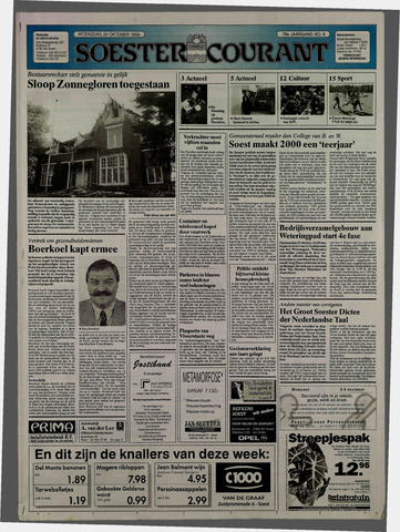 Soester Courant 1999-10-20
