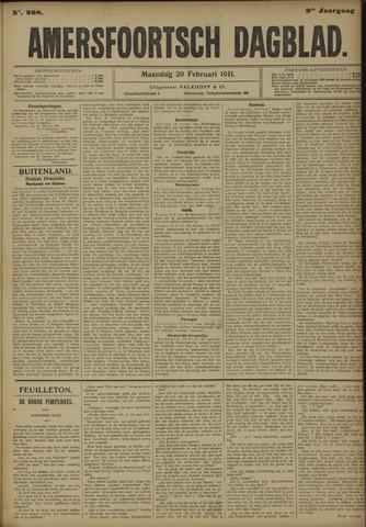 Amersfoortsch Dagblad 1911-02-20