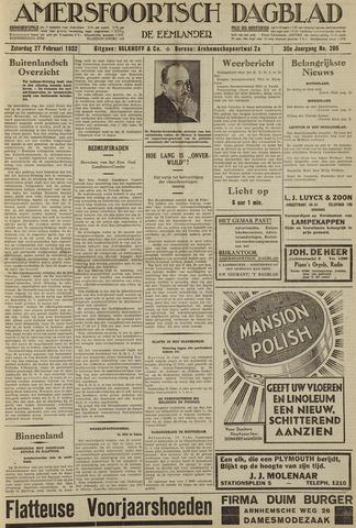Amersfoortsch Dagblad / De Eemlander 1932-02-27