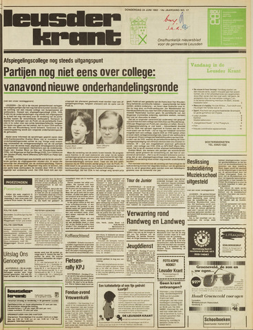 Leusder Krant 1982-06-24