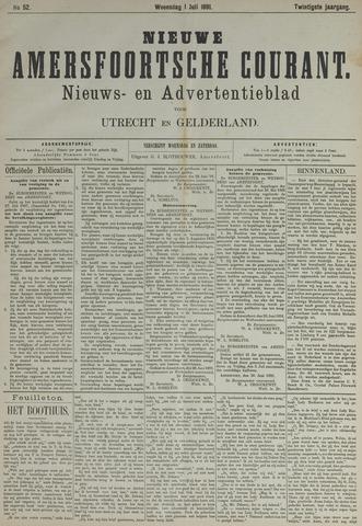 Nieuwe Amersfoortsche Courant 1891-07-01