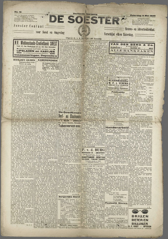 Soester Courant 1925-05-09