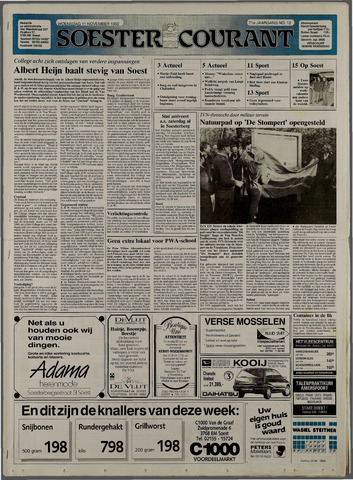 Soester Courant 1992-11-11