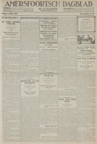 Amersfoortsch Dagblad / De Eemlander 1929-10-04
