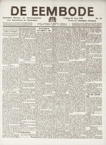 De Eembode 1928-08-10