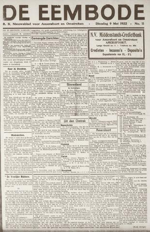 De Eembode 1922-05-09