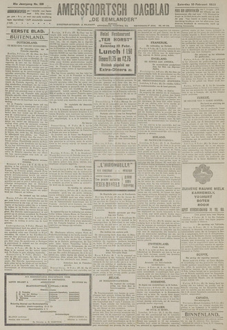 Amersfoortsch Dagblad / De Eemlander 1923-02-10