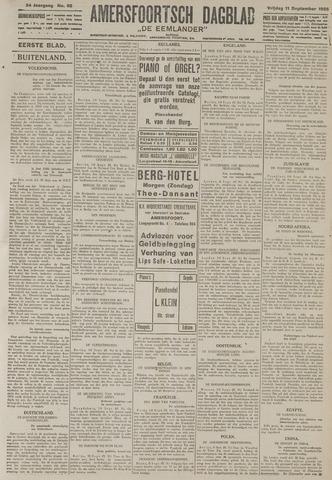 Amersfoortsch Dagblad / De Eemlander 1925-09-11