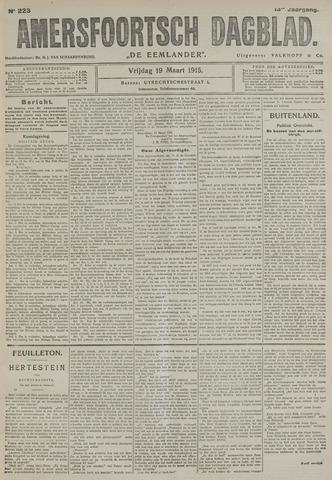 Amersfoortsch Dagblad / De Eemlander 1915-03-19