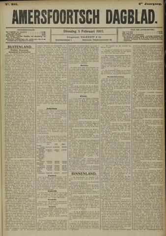 Amersfoortsch Dagblad 1907-02-05