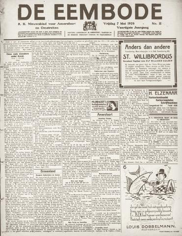 De Eembode 1926-05-07