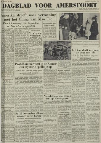 Dagblad voor Amersfoort 1950-11-17