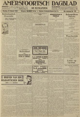 Amersfoortsch Dagblad / De Eemlander 1932-02-15