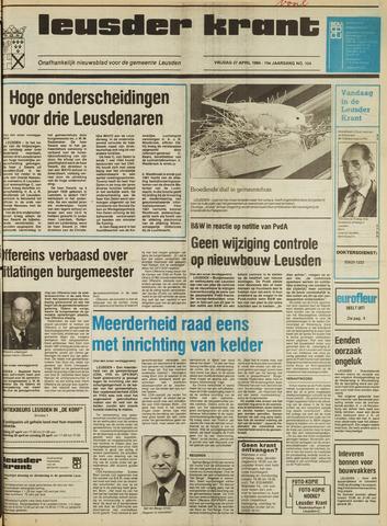 Leusder Krant 1984-04-27