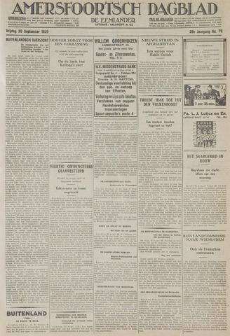 Amersfoortsch Dagblad / De Eemlander 1929-09-20