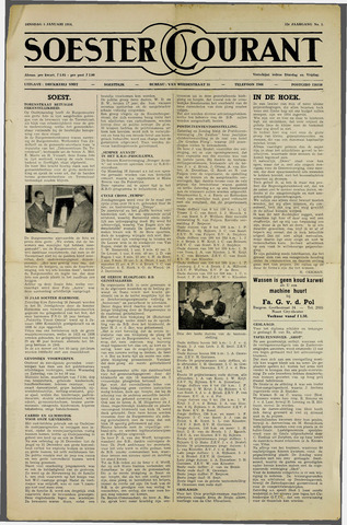 Soester Courant 1954-01-05