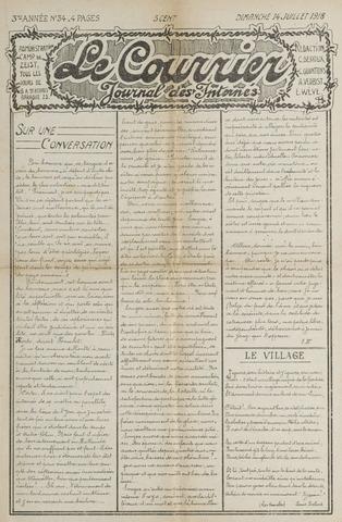 Le Courrier 1918-07-14