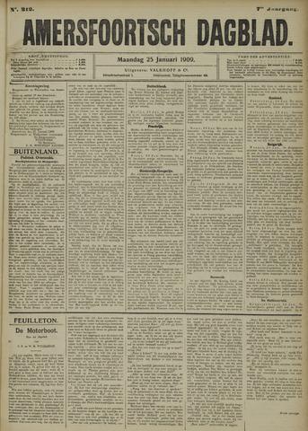 Amersfoortsch Dagblad 1909-01-25