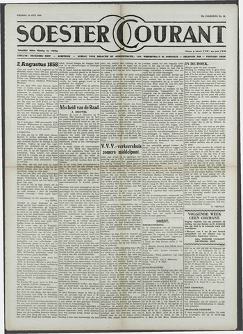 Soester Courant 1958-07-25