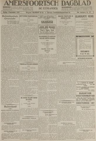 Amersfoortsch Dagblad / De Eemlander 1931-09-04