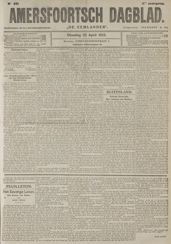 Amersfoortsch Dagblad / De Eemlander 1913-04-29