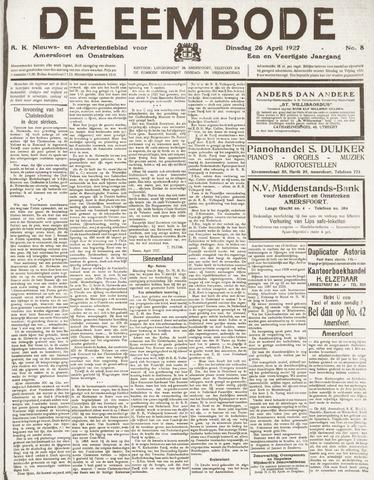 De Eembode 1927-04-26