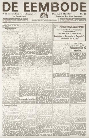 De Eembode 1923-05-15