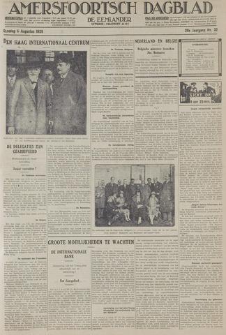 Amersfoortsch Dagblad / De Eemlander 1929-08-06