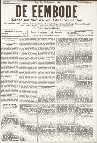 De Eembode 1896-09-26