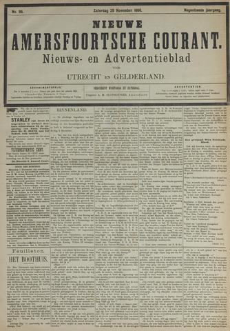 Nieuwe Amersfoortsche Courant 1890-11-29