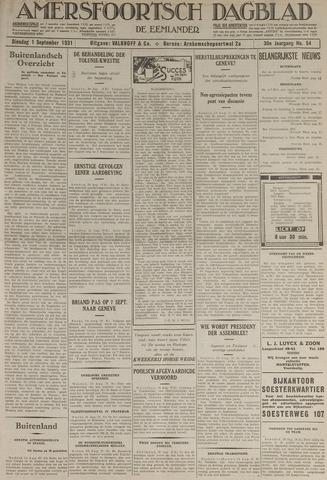 Amersfoortsch Dagblad / De Eemlander 1931-09-01