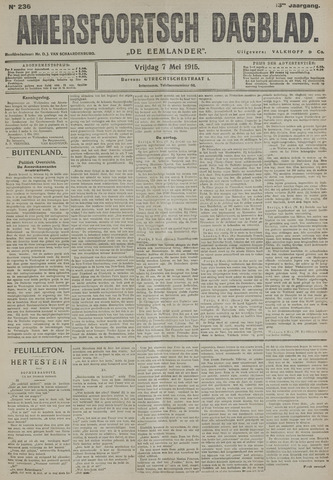 Amersfoortsch Dagblad / De Eemlander 1915-05-07