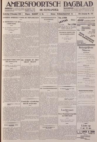 Amersfoortsch Dagblad / De Eemlander 1934-12-13