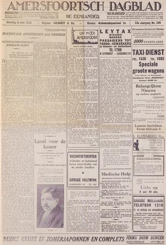Amersfoortsch Dagblad / De Eemlander 1935-06-08
