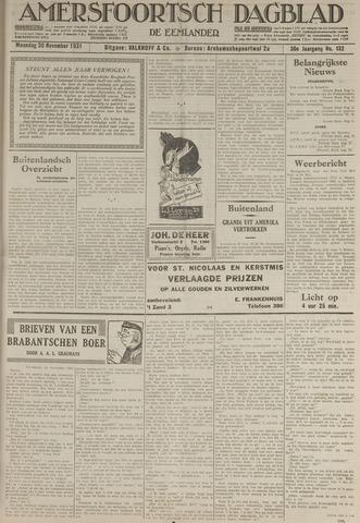 Amersfoortsch Dagblad / De Eemlander 1931-11-30