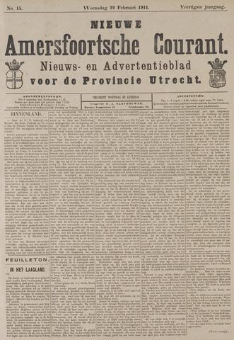 Nieuwe Amersfoortsche Courant 1911-02-22