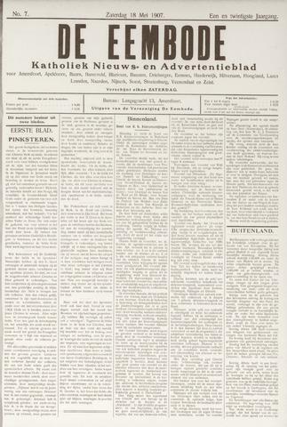 De Eembode 1907-05-18