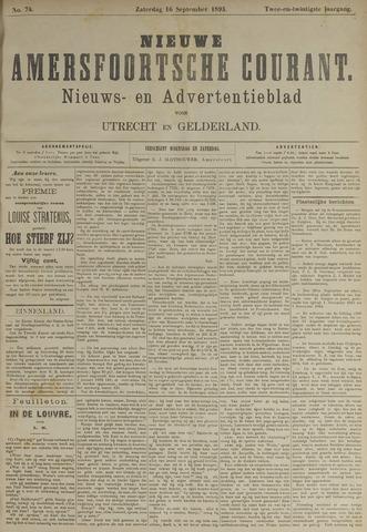 Nieuwe Amersfoortsche Courant 1893-09-16