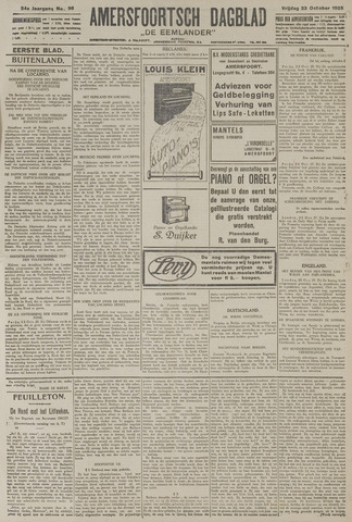 Amersfoortsch Dagblad / De Eemlander 1925-10-23