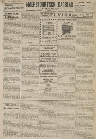 Amersfoortsch Dagblad / De Eemlander 1925-07-03