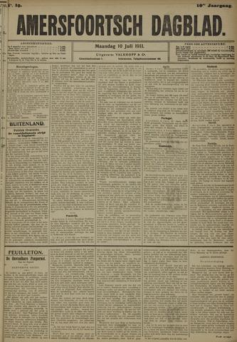 Amersfoortsch Dagblad 1911-07-10