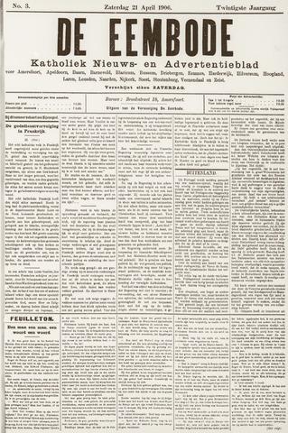 De Eembode 1906-04-21