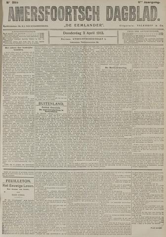 Amersfoortsch Dagblad / De Eemlander 1913-04-03