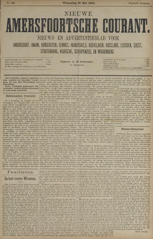 Nieuwe Amersfoortsche Courant 1884-05-28