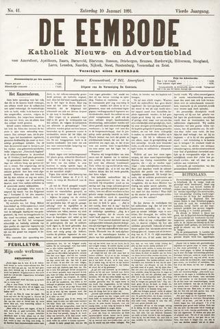 De Eembode 1891-01-10