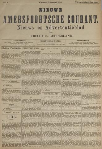 Nieuwe Amersfoortsche Courant 1896-01-08