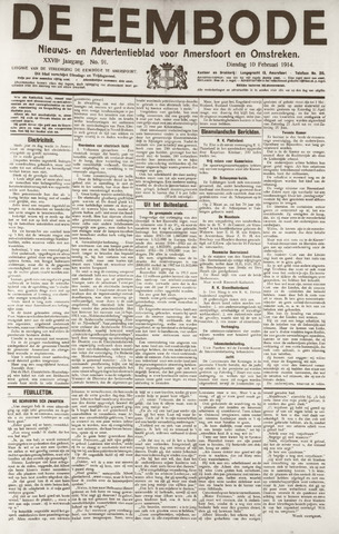 De Eembode 1914-02-10