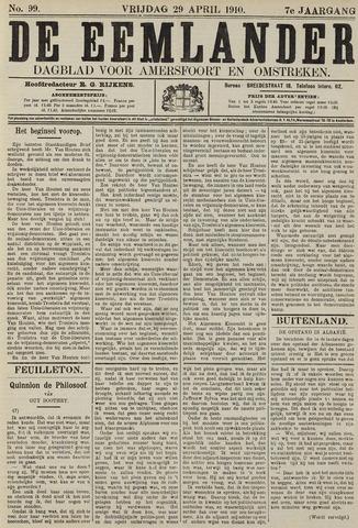 De Eemlander 1910-04-29