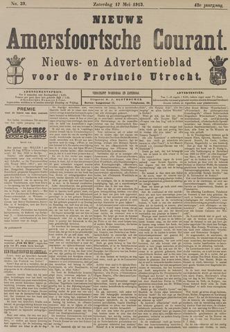 Nieuwe Amersfoortsche Courant 1913-05-17