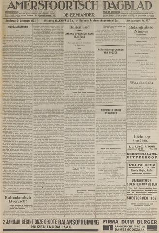 Amersfoortsch Dagblad / De Eemlander 1931-12-31